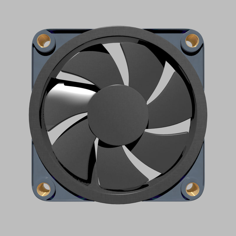 3d chassis fan
