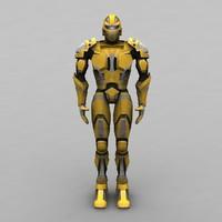 3d humanwarrior 3