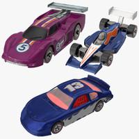 Toy Racecars