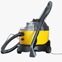3d model of vacuum cleaner