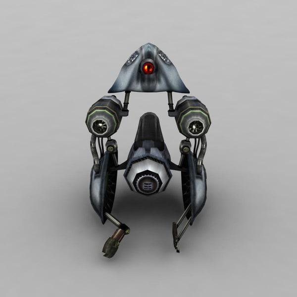 space spacecraft 3ds
