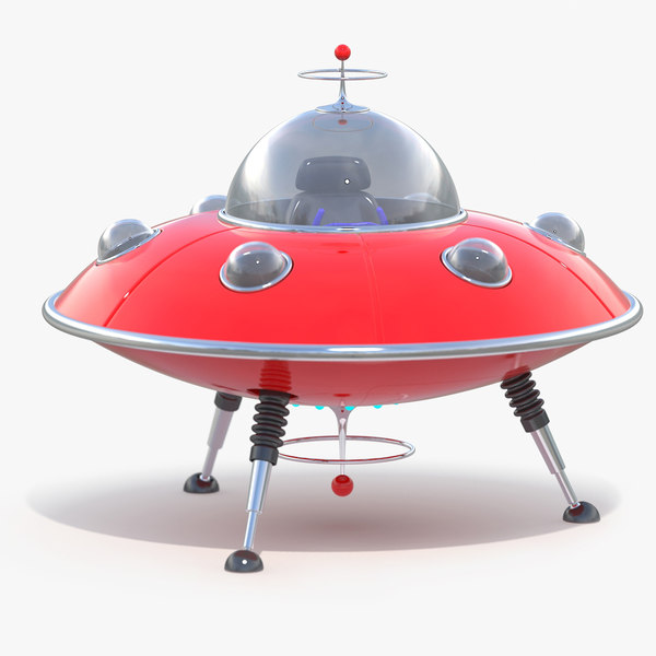 ufo toy 3d max