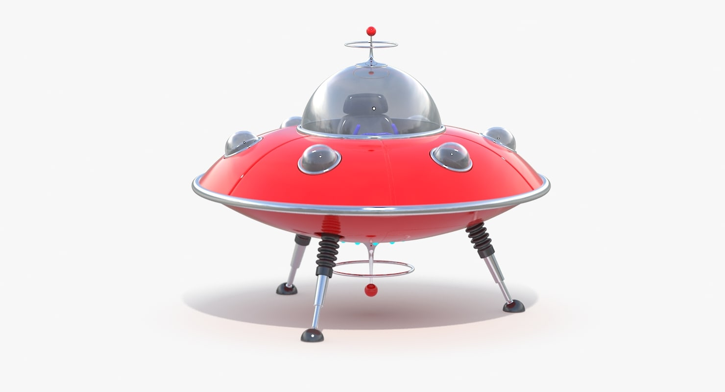 ufo toy 3d max