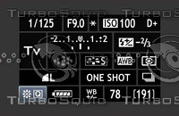 Camera Display Info