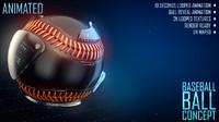 Baseball Ball Concept