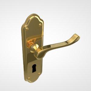door handle c4d
