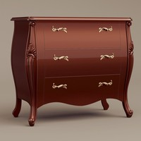 berger chantal commode 3d model
