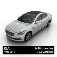 3d 2015 kia k900 sedan