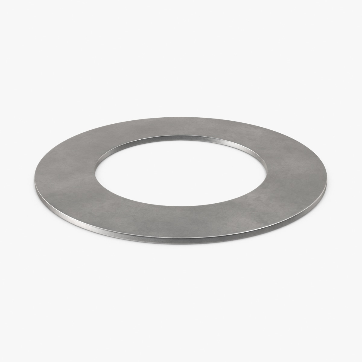 flat washer 3d max