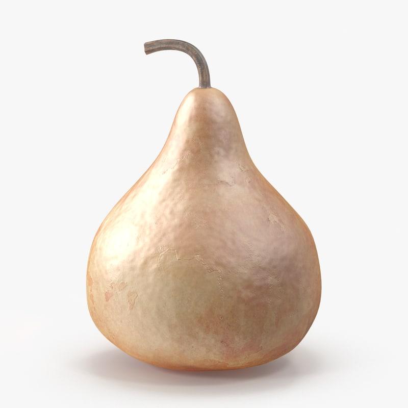 3d gourd 04 model