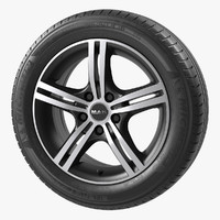 Mak Veloce Ice Black wheel