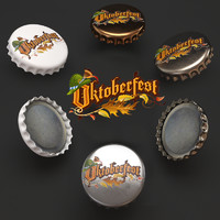 cap beer bottle oktoberfest
