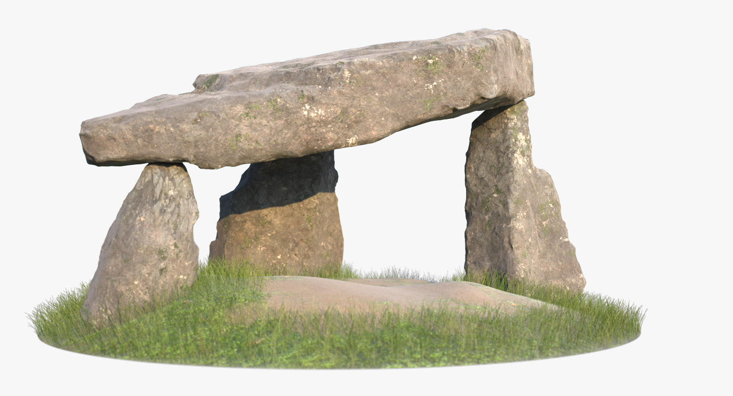 3d model dolmen