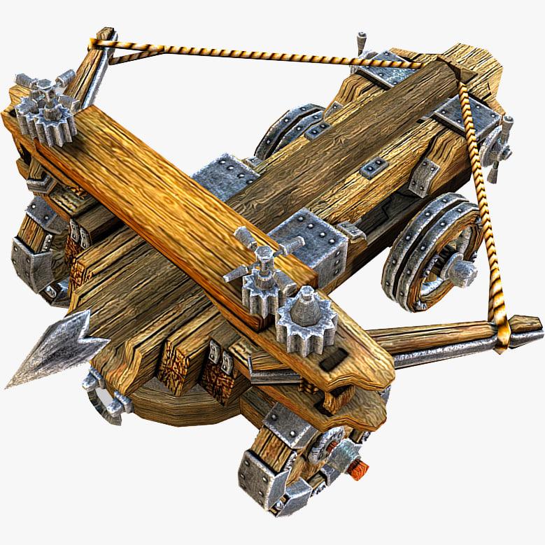 3d model balista