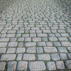 3d model paving stone