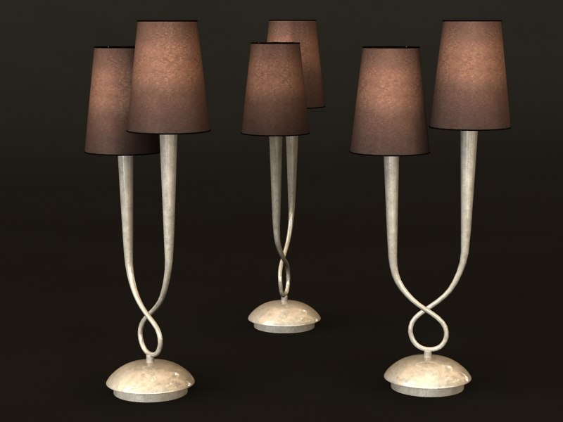 3d mantra paola 3536 lamp model