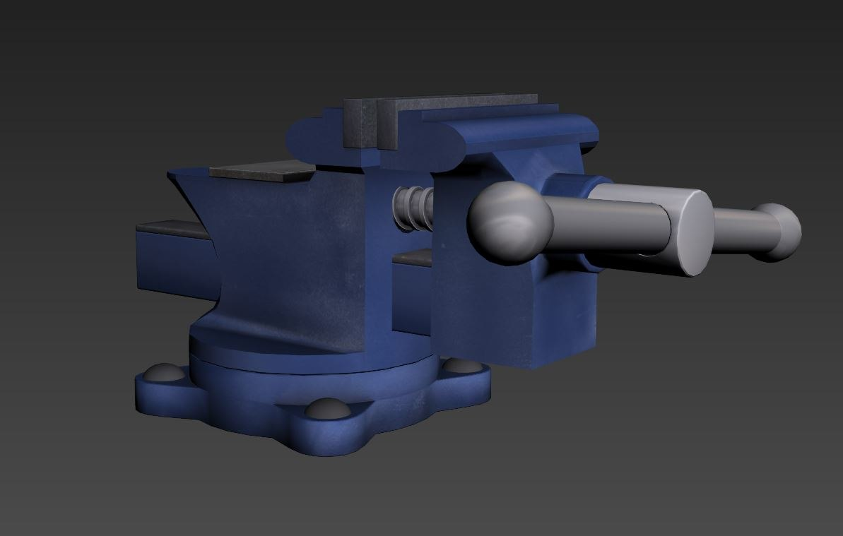 vise engine ready 3d max