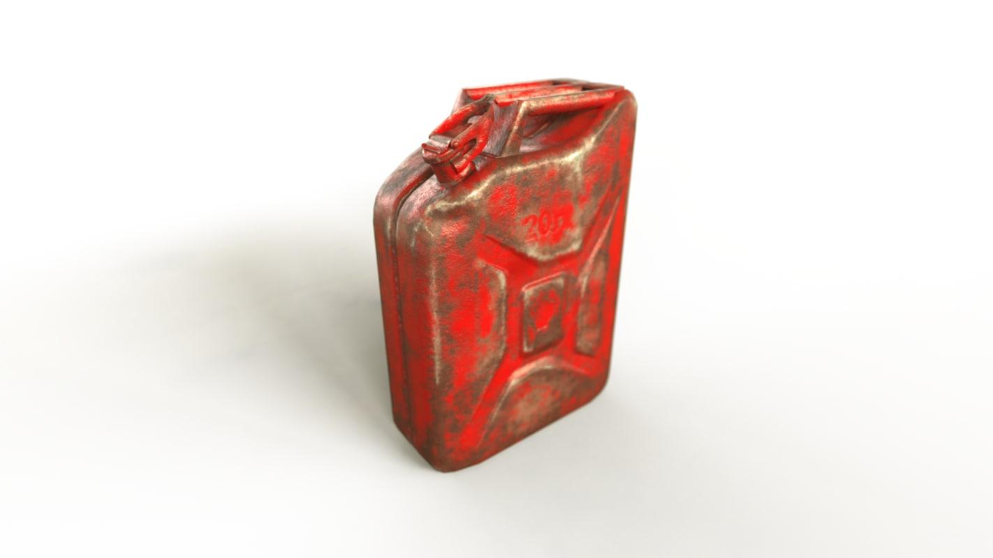 soviet jerrycan 3d 3ds