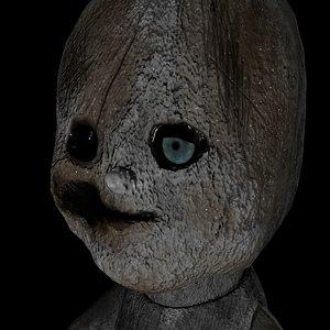 creepy creep doll 3d 3ds