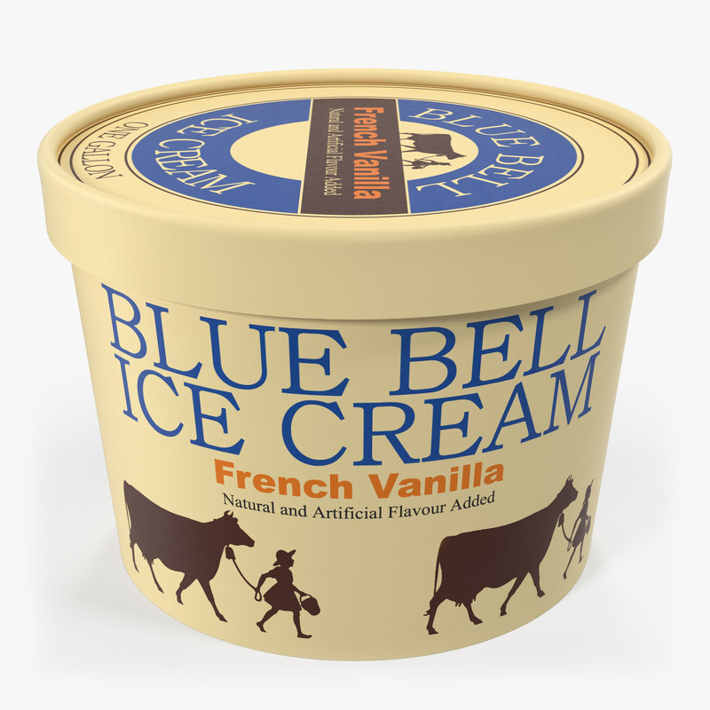 3ds ice cream gallon tub