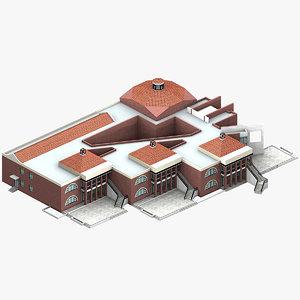 3d model nursery school