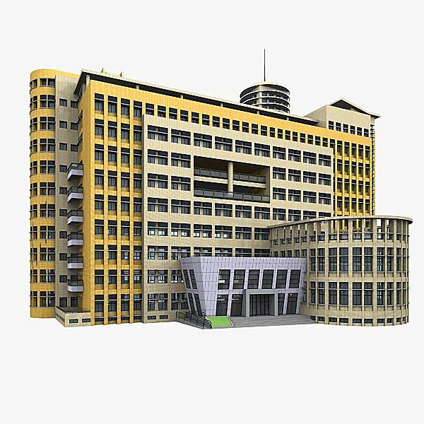 3d model of office building