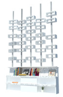 free 3ds model bookcase decorative
