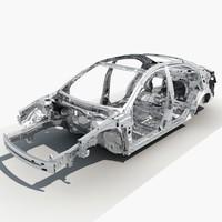 car frame 3d max