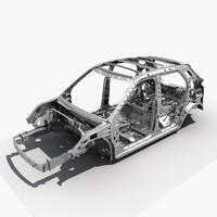 3d suv frame model
