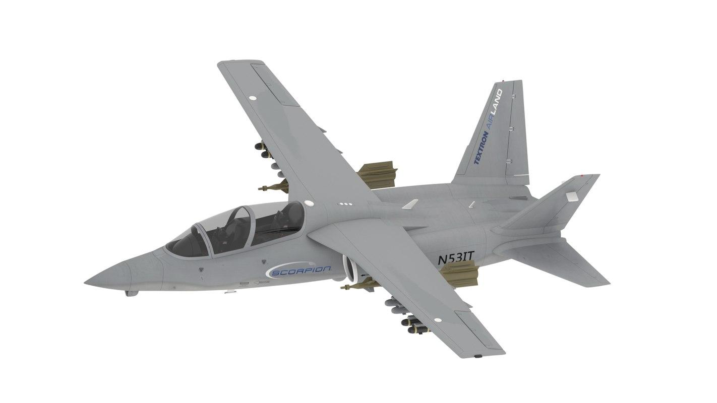 3d model textron airland s scorpion
