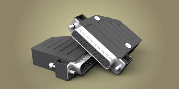 max 25 pin connector