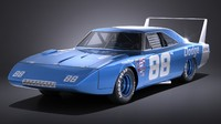 Dodge Charger Daytona 1969 NASCAR