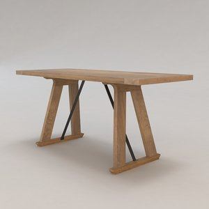 alta desk christian liaigre 3d max