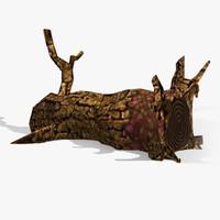 Toon Textured Dead Tree
