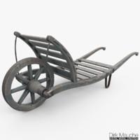 push cart 3d fbx