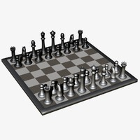 chess lightwave 3d dxf