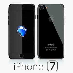 apple iphone 7 3d max