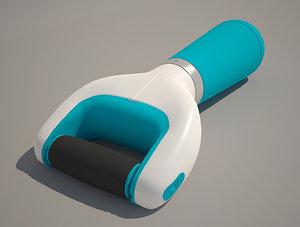nail file pedicure 3d model