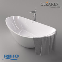 Bath Riho Granada and mixer Cezares Cascado