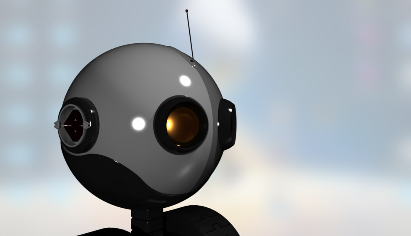 little robotic 3d model