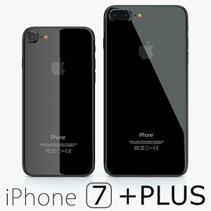 3d model 2 iphone 7 jet