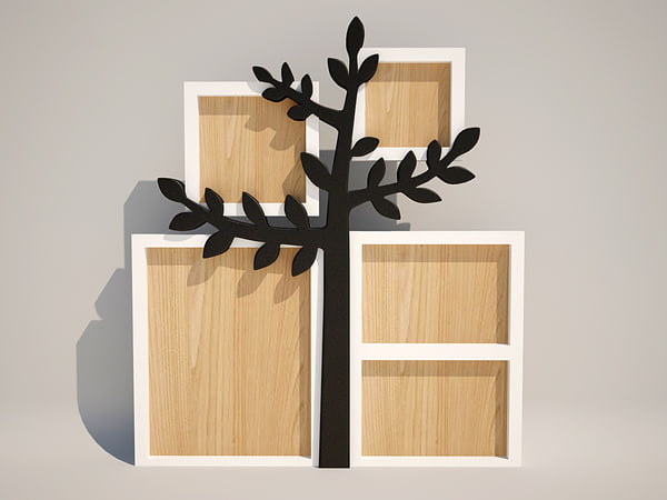 3d frame tree model
