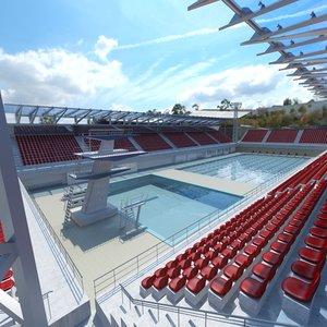 olympic swimming pool max