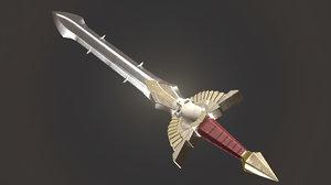 3d model epick sword