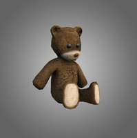Teddy Bear Low-Poly