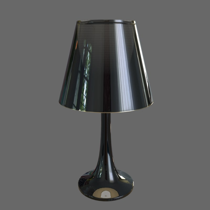 flos lamp 3d model