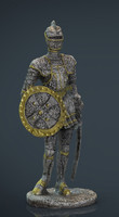 max medieval knight statue 2