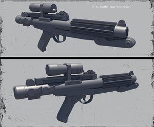 3d e-11 blaster model