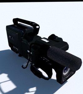 3d camera games model