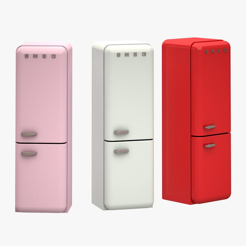 3d max smeg refrigerator